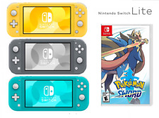 Pick Your Favorite Color Nintendo Switch Lite and Pokemon Sword BRAND NEW