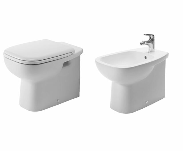 Duravit Sanitari Serie D-code WC bidet copriwc Bianco termoindurente