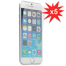 5 pack Screen Guard Front Anti-UV LCD Screen Protector for iPhone 6 Plus