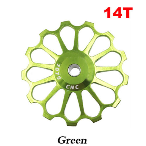 Derailleur Ceramic Bearing 11-17T Rear Pulley Jockey Wheel Bike Guide Roller