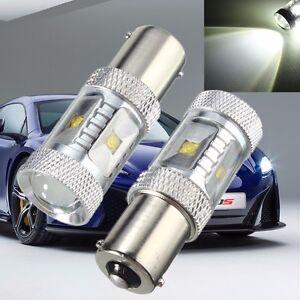 2x-30W-1156-BA15S-P21W-Led-Sauvegarde-Feu-Canbus-Light-Anti-Erreur-6000K-Lampe