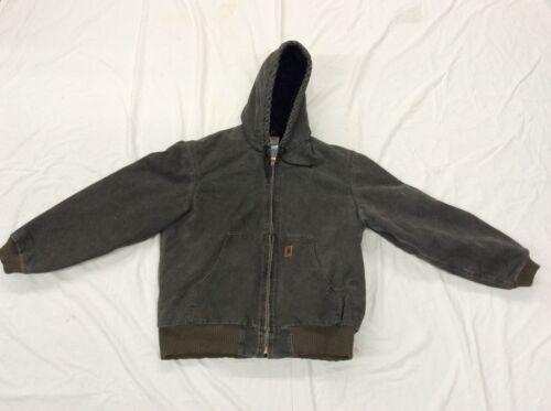 VTG Carhartt Greenish Gray Insulated Work Jacket R