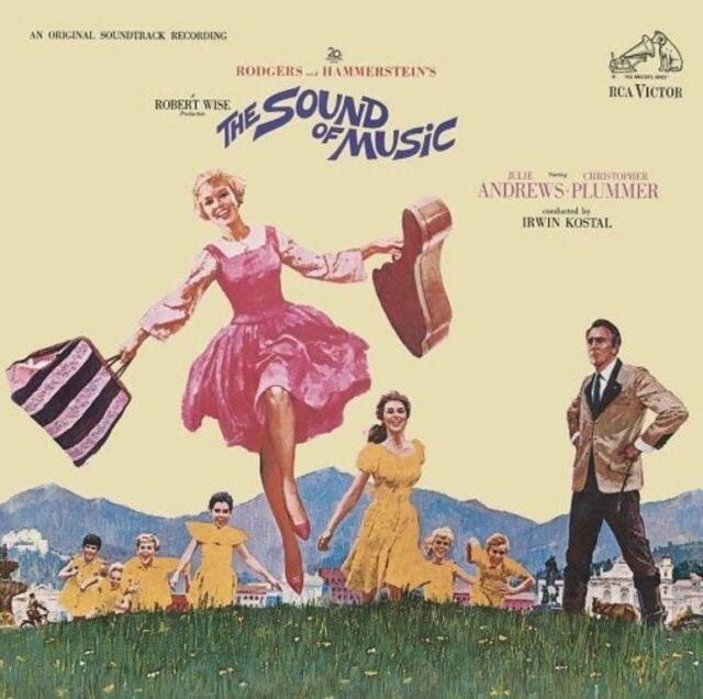 Audio CD - Soundtrack - The Sound of Music - Julie Andrew - Christopher Plummer
