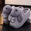 Women High Wedge Platform Winter Warm Muffins Slippers Slip On Indoor Shoes B211