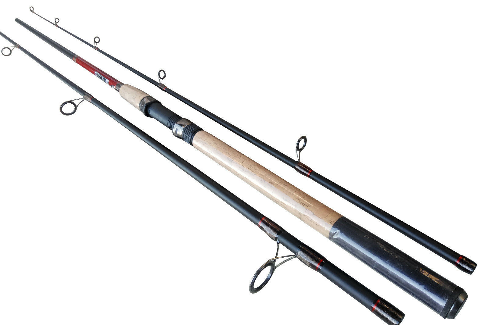 Extra Heavy XH 8ft9ft10ft 3 Sections Carbon Fast Action Spinning Rod CW 4080g