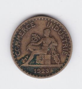 1923 french coin bon pour one 1 franc chambres de commerce for Chambre de commerce de france