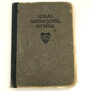 Details about Ideal Sunday School Hymns Book St Marks Evangelical Church  Brooklyn NY Vintage
