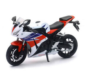 New-Ray-1-12-Honda-Fireblade-CBR-1000-RR-Die-Cast-Toy-Model-Motorcycle-White