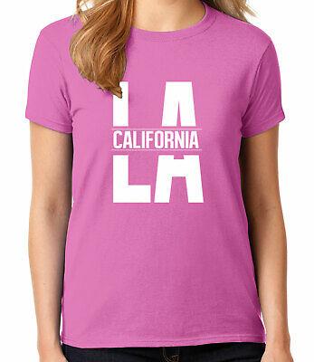 Cool LA California Adult/'s T-shirt New CA Los Angeles Design Tee for Men 1795C