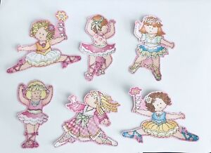 Cutie-Ballerinas-Iron-On-Fabric-Appliques-Tiny-Dancers-Patches