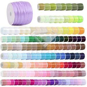 50-Yards-Fancy-Satin-Ribbon-Wedding-Birthday-Party-Craft-Supplies-1-8-034-3mm