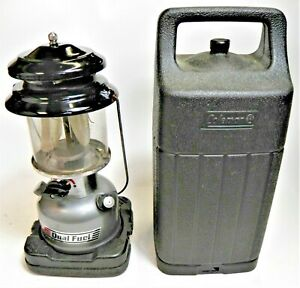 VTG 4/95 Coleman 295-746 Powerhouse Dual Fuel Lantern Made In USA - With Case