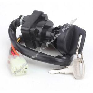 key ignition switch fit suzuki lta400 lta400fc lta400f. Black Bedroom Furniture Sets. Home Design Ideas