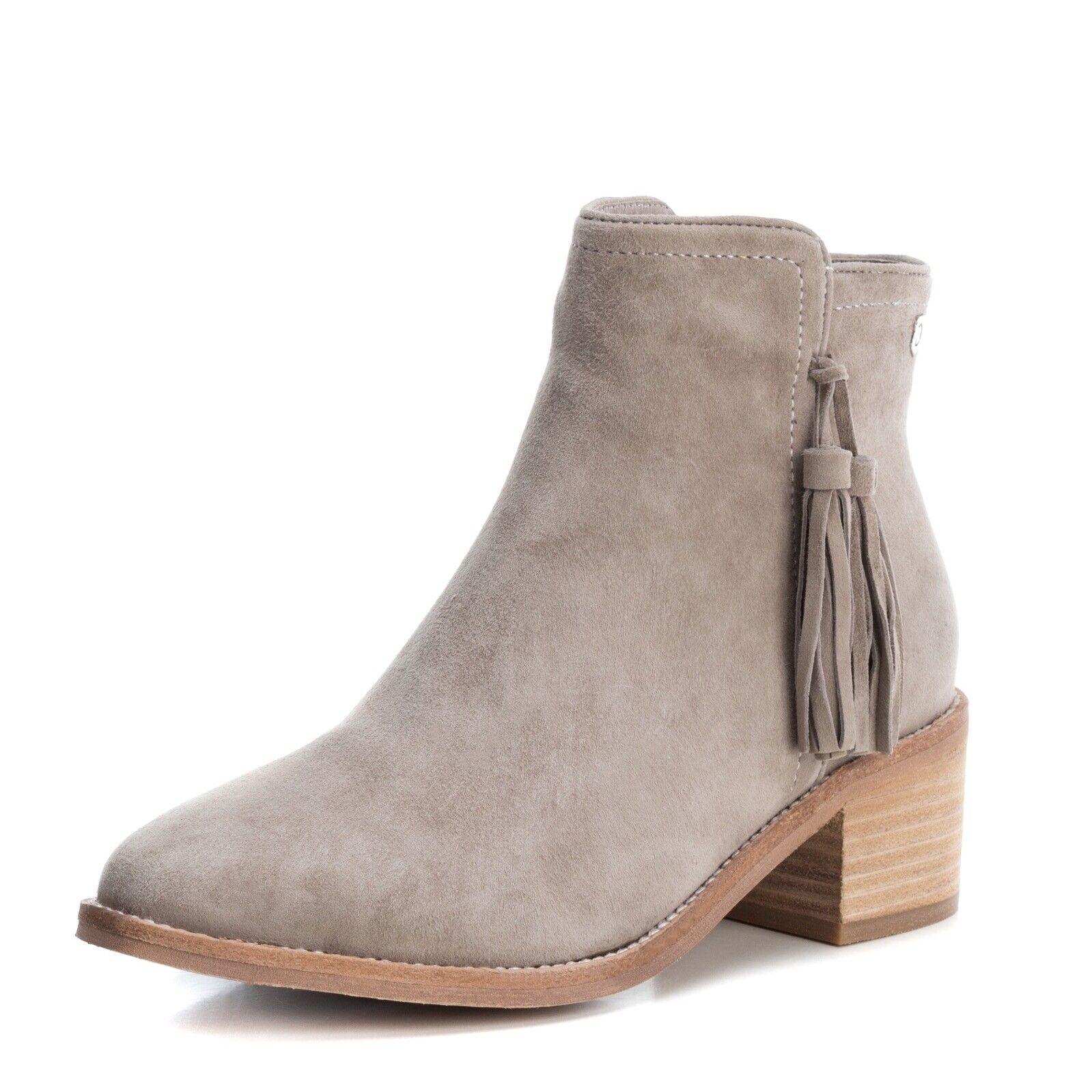 Carmela di Xti scarpe 6666698 Taupe Marroneeish  grigio Suede Ankle avvio Sue stivali  il prezzo più basso