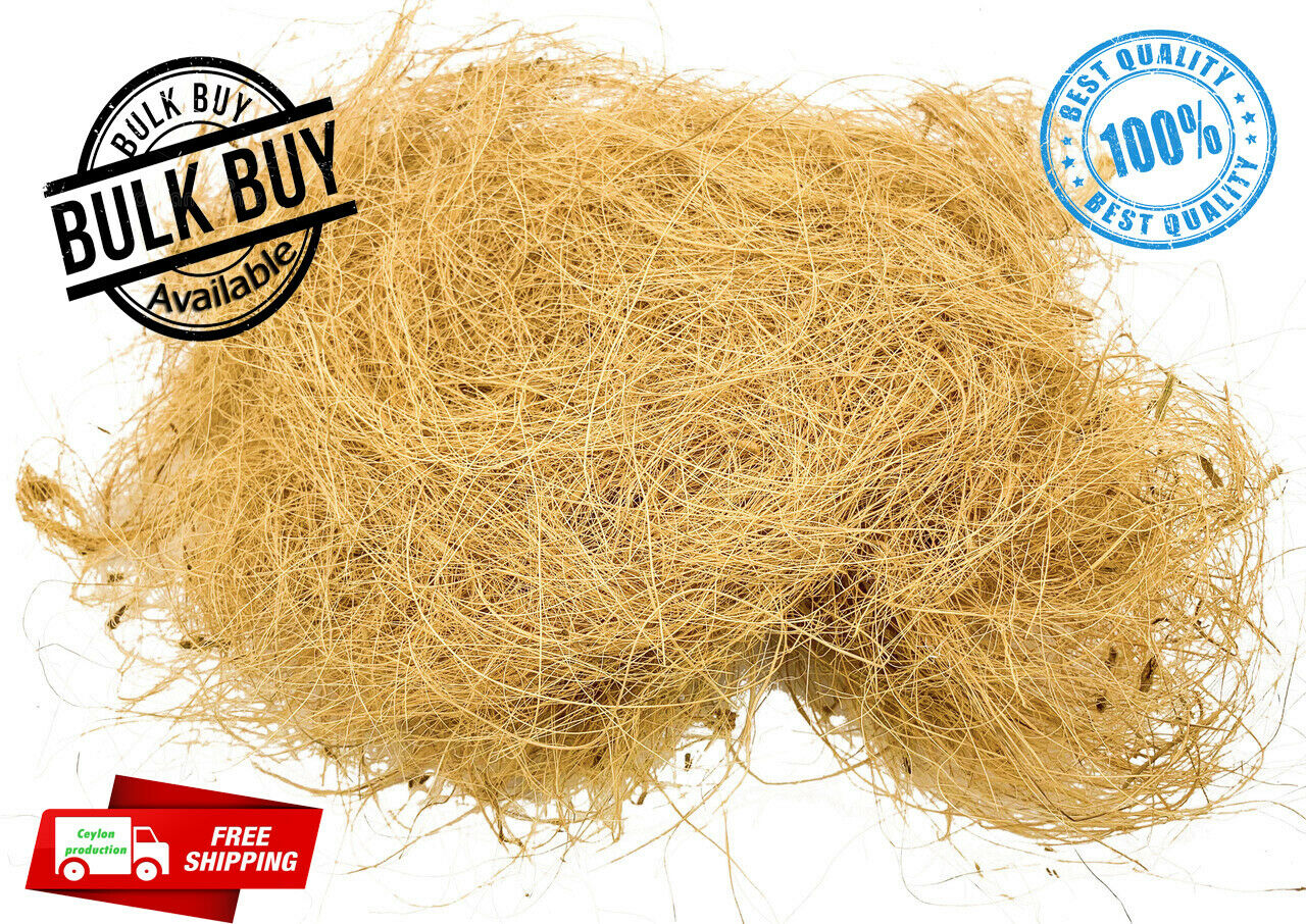 Eco-Friendly Ceylon Coconut Husk Fiber 100% Natural Homemade Pure Organic Brand