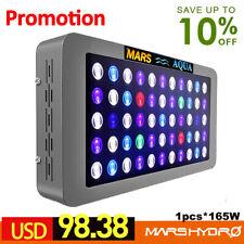Mars Aqua 165w LED Aquarium Light Full Spectrum Reef Coral Marine Dimmable SPS