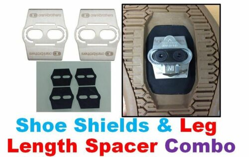 Leg Length cleat spacer for SHIMANO SPD Mountain pedal CRANK BROS SHOE SHIELD