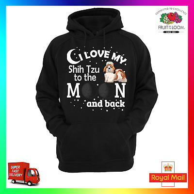 This Girl Loves Her Shih Tzu Dog Pet Ladies Unisex Hoodie Size S-XXL
