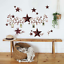 thumbnail 3 - RoomMates Country Stars & Berries Peel and Stick Wall Decals - RMK1276SCS