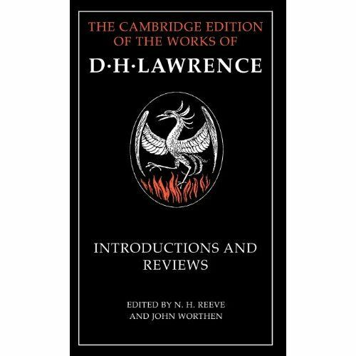 Introductions Reviews by D. H. Lawrence. Hardcover 9780521835848 Cond=LN:NSD