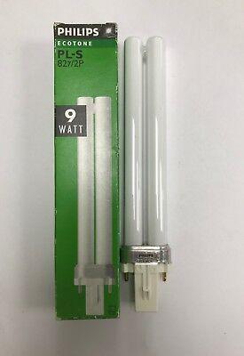 Philips Pls 11 W 827 blanc chaud 2PIN G23 CFL PLS//Biax S//DULUX S