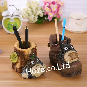 Image Is Loading Anime Cartoon My Neighbor Totoro Resin Pencil Vase