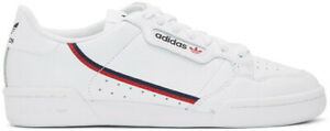 hot sales c8c3a 3dc2b Image is loading Adidas-Originals-Continental-80-Off-White-Raw-White-