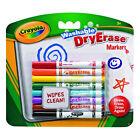 Crayola Skinnies Whiteboard Markers Washable Dry Erase 8pk 98 2002