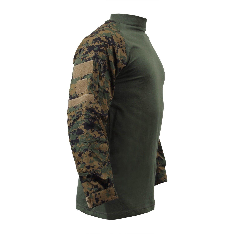 US UCP ACU COMBAT Army USMC USMC USMC Woodland Digital MARPAT Shirt Hemd L / Large b16205