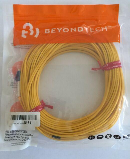 - OS1 3.28ft SC to SC Fiber Patch Cable Single Mode Duplex 1m Beyondtech