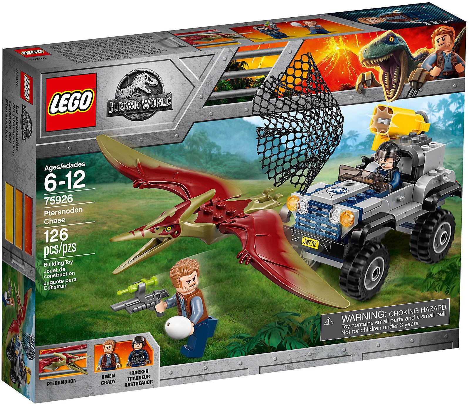 LEGO Jurassic World 75926 - Poursuite Dello Ptéranodon NEUF