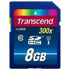 Artikelbild Transcend Speicherkarten/Lesegeräte SDHC 8 GB UHS-1 400x