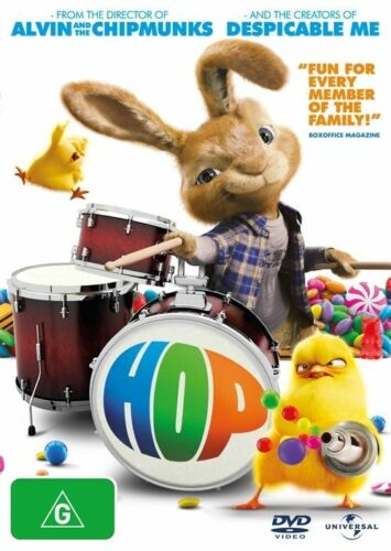 1 of 1 - Hop (DVD, 2011) Candy Chicks And Rock 'N' Roll R4 🇦🇺Brand New Sealed Free Post