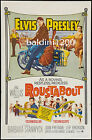 ELVIS PRESLEY - ROUSTABOUT - HIGH QUALITY VINTAGE MOVIE/MUSIC POSTER