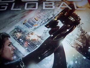 New Resident Evil Retribution Promo Poster Evil Goes Global Milla