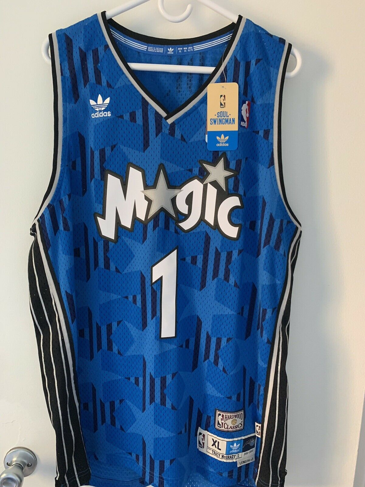 Adidas Nba Orlando Magic 1 Tracy Mcgrady Jersey Sz Xl 2 Hardwood 02 03 Bnwt Mac For Sale Online