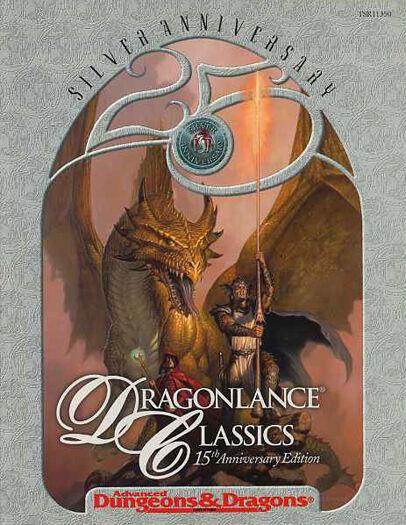 DRAGONLANCE CLASSICS VF  Adventure 11350 AD&D D&D TSR Module Dungeons & Dragons
