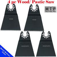 4 Saw Blade Oscillating Multi Tool Dremel Milwaukee Craftsman Performax Ridgid