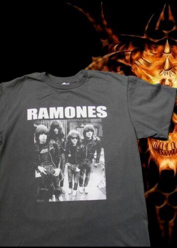 RAMONES 1 PUNK ROCK T SHIRT CHARCOAL MEN/'S SIZES NEW!