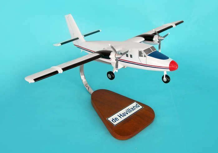 H9044 Executive Desktop Dehavilland Twin Otter 1 40 Model