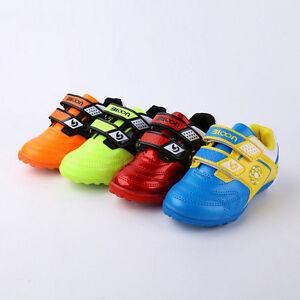 Scarpe-Sportive-Scarpe-Calcio-Bambini-camme-Scarpe-Scarpa-da-calcio-camme-Scarpe