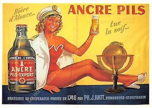 CP Poster Advertising Beer Anchor Pils Edit Nugeron J120