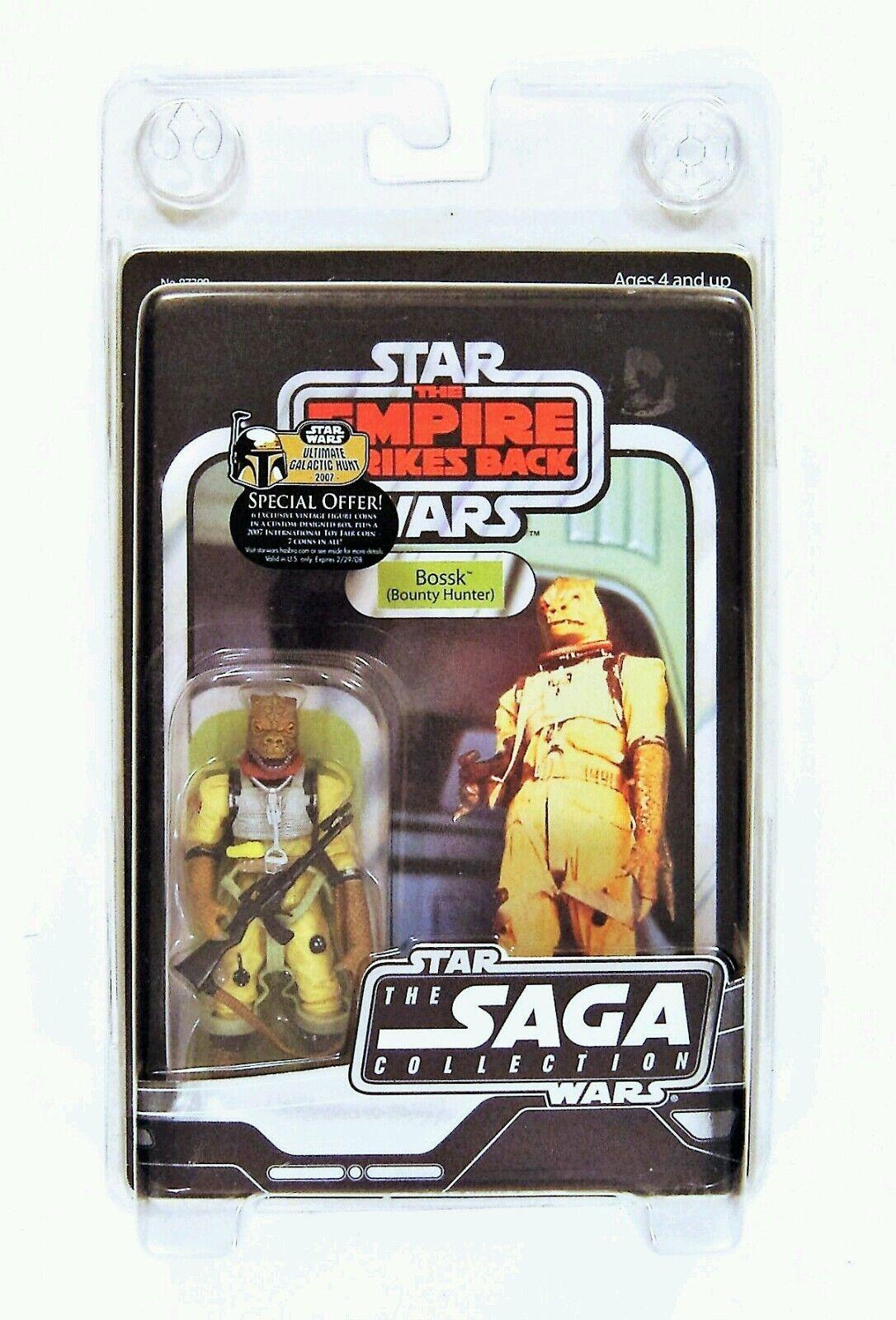 Hasbro Star Wars Vintage Saga Serie ESB Bossk Kopfgeld Jäger Figur