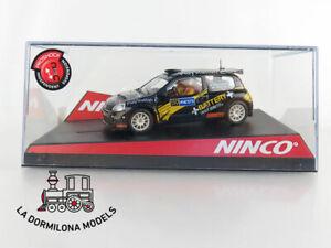 NINCO-50368-RENAULT-CLIO-SUPER-1600-119-BATTERY-NUEVO-SLOR-CAR