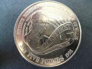 1998-5-COIN-CROWN-PRINCE-CHARLES-50TH-BIRTHDAY-1998-FIVE-POUNDS-COIN