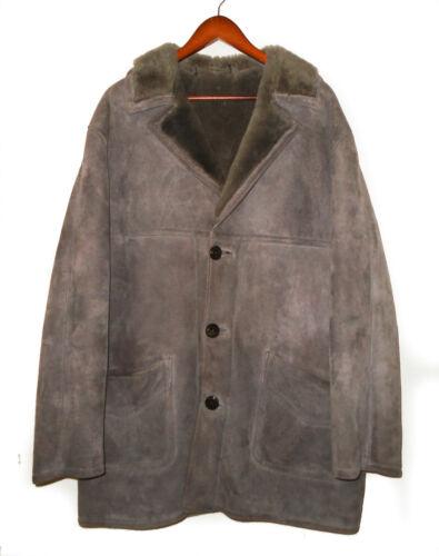 SHEEPSKIN SHEARLING Ranch Coat MARLBORO MAN Long L