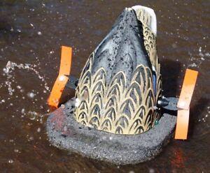 WONDERDUCK CYCLONE HEN AVERY BUTT UP MALLARD WATER MOTION MOTORIZED DUCK DECOY!