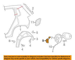 Image Is Loading Vw Volkswagen Oem 09 17 Tiguan Fuel Door