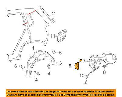 VW VOLKSWAGEN OEM 09-16 Tiguan Fuel Door-Lock Actuator 5N0810773F