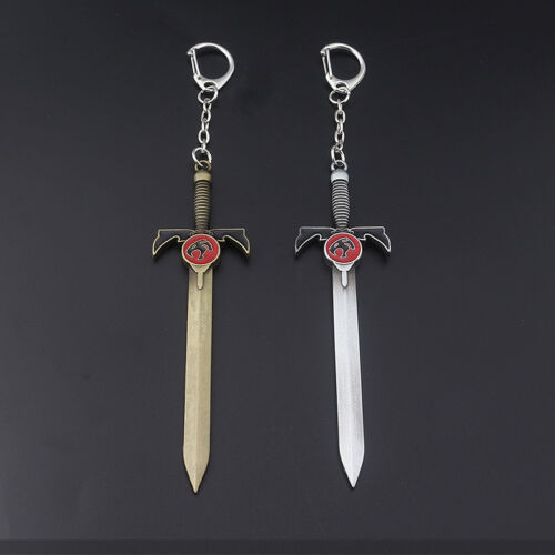 Weapon Sword Keychain Silver Bronze Color Key Ring for Fans Souvenirs FashionNew